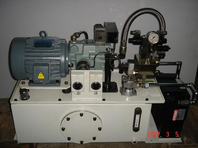 机床液压泵站图片